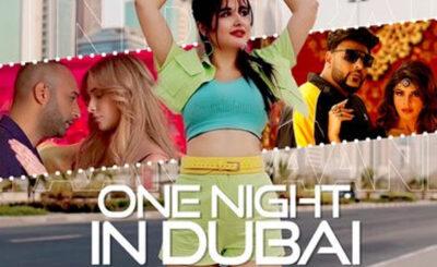 One Night in Dubai Vs Paani Paani (Remix) - DJ Tripti Dubai